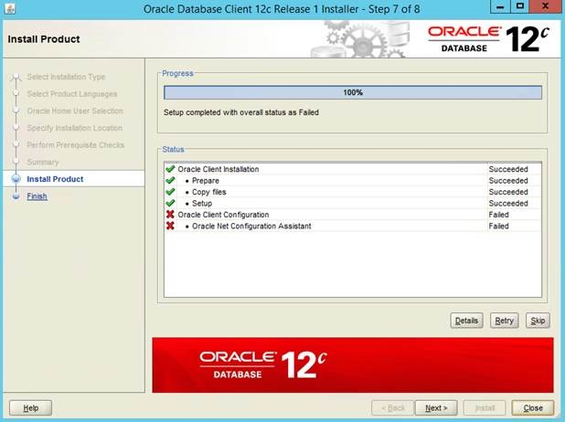 Installing Oracle 12c On Windows